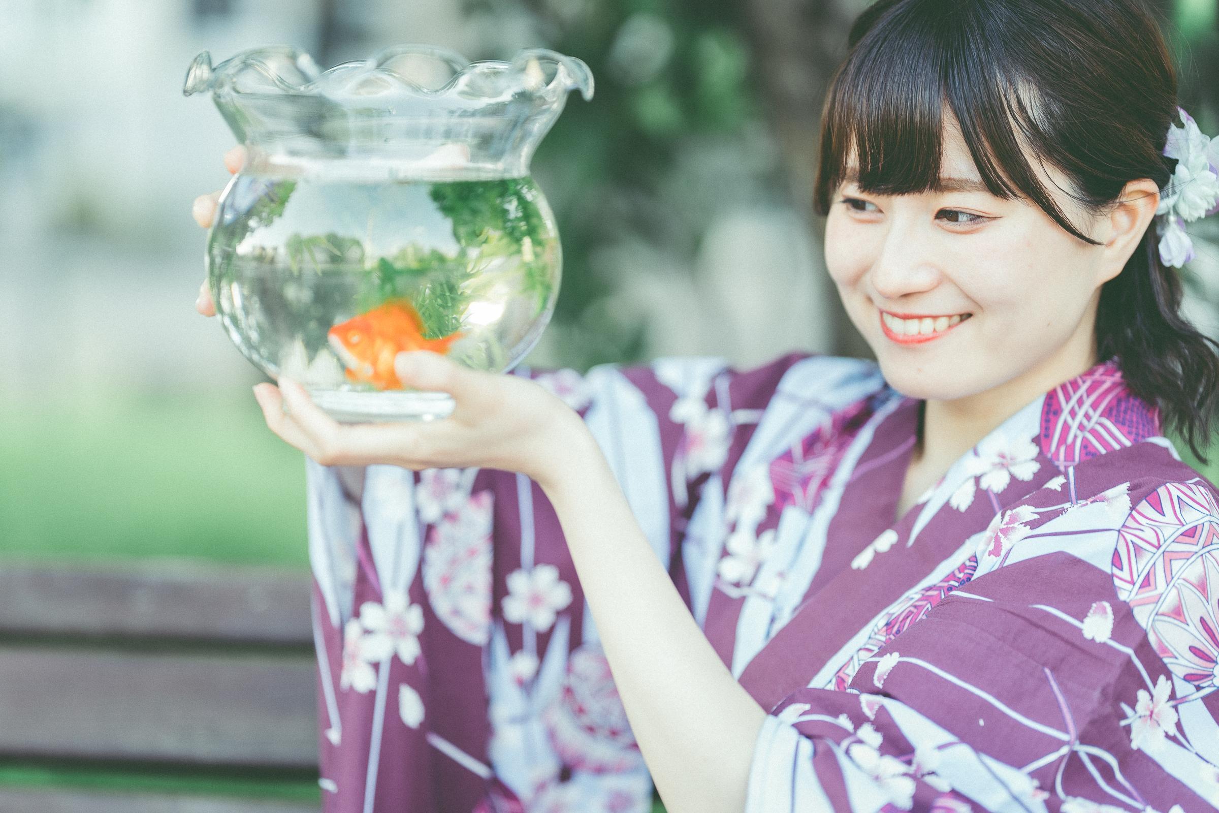 HAPPY少女♪ あゆみ ( 新谷亜由美 ) | SMP 札幌モデルプロ 浴衣撮影会