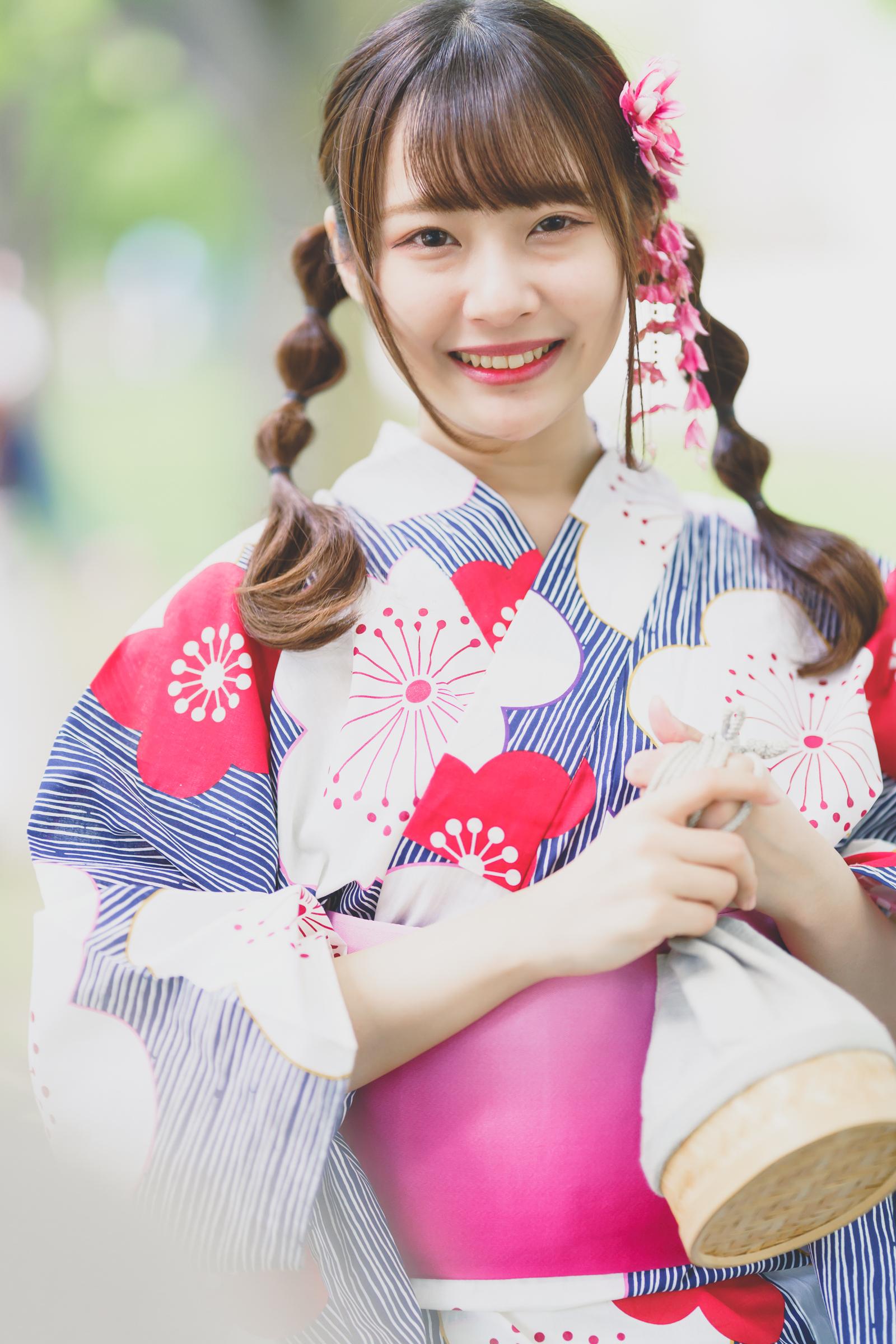 HAPPY少女♪ ちひろ ( 孫田ちひろ ) | SMP 札幌モデルプロ 浴衣撮影会