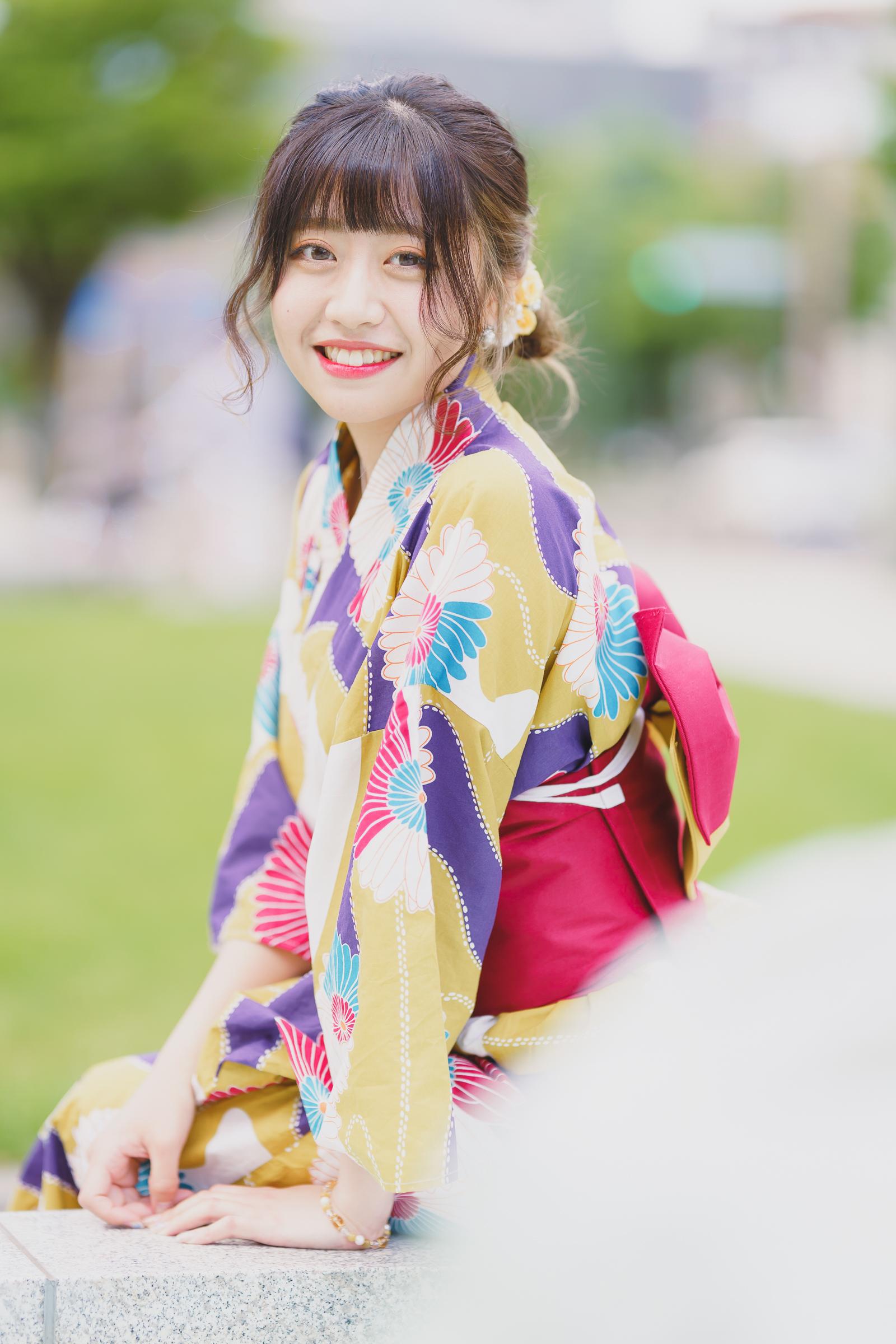 HAPPY少女♪ れいか ( 鳴海れいか )   SMP 札幌モデルプロ 浴衣撮影会