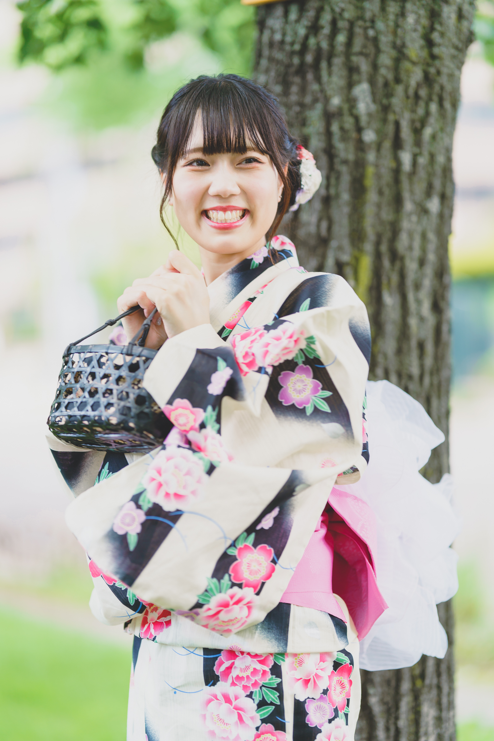 HAPPY少女♪ りお ( 松永りお ) | SMP 札幌モデルプロ 浴衣撮影会