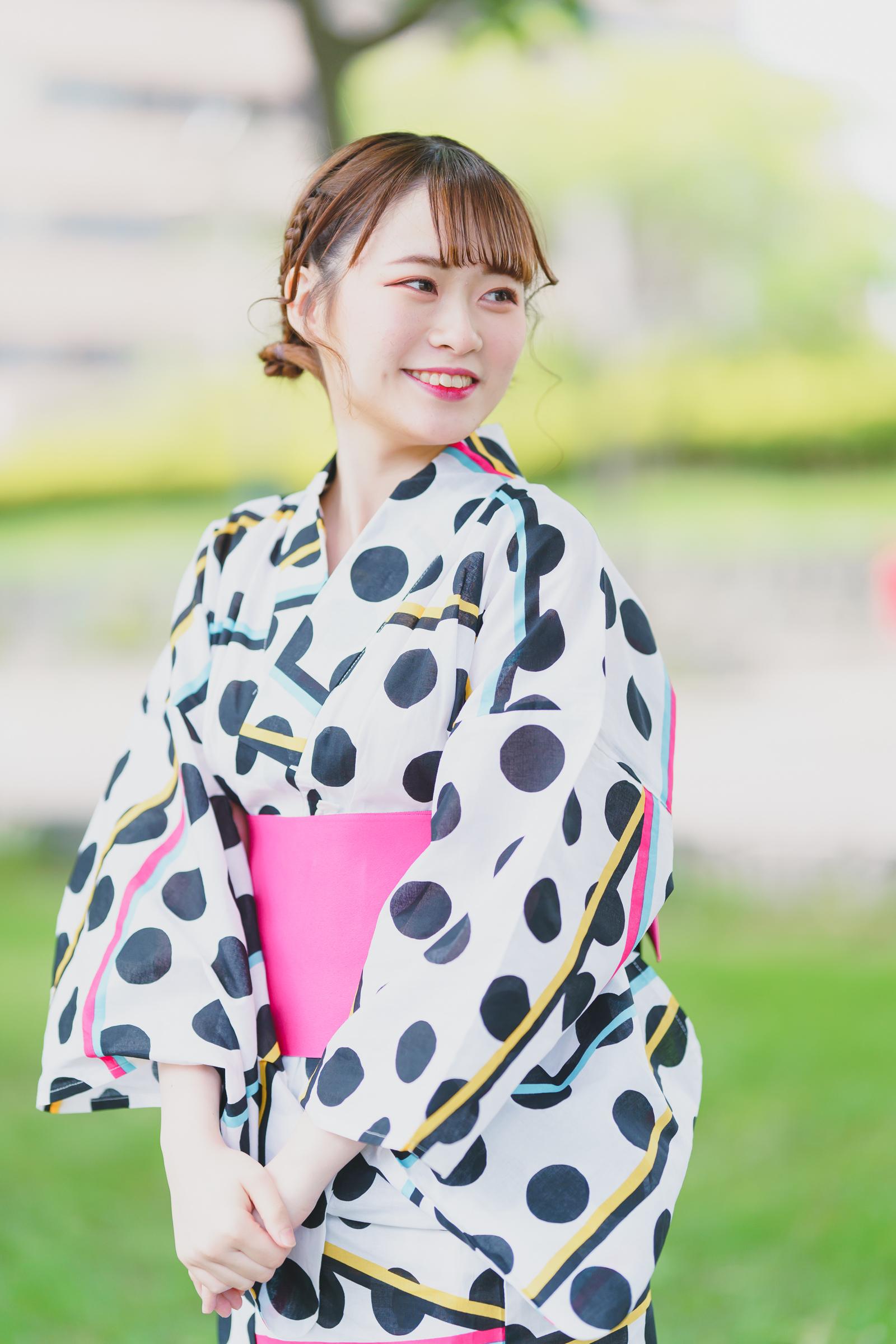 Poison Palette AIRI ( 藤枝愛理 )   SMP 札幌モデルプロ 浴衣撮影会
