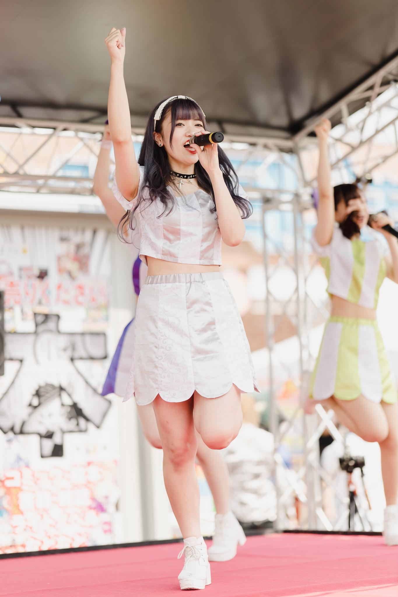 フルーティー♡ あおい ( 横山葵 ) | お宝百貨店万代藤野店「SUMMER FESTIVAL 2021」1日目