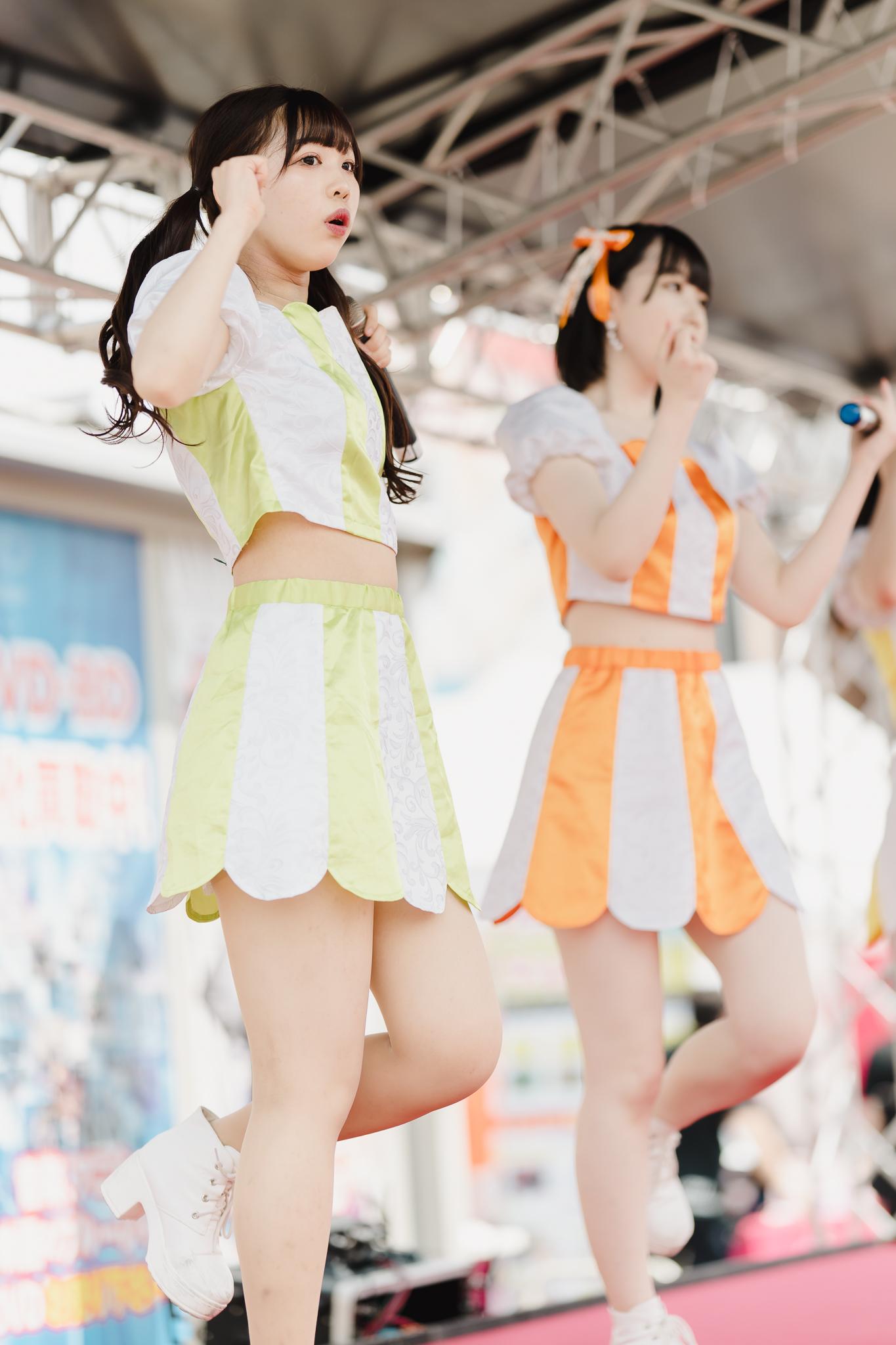 フルーティー♡ おかゆ ( 新岡ゆう ) | お宝百貨店万代藤野店「SUMMER FESTIVAL 2021」1日目