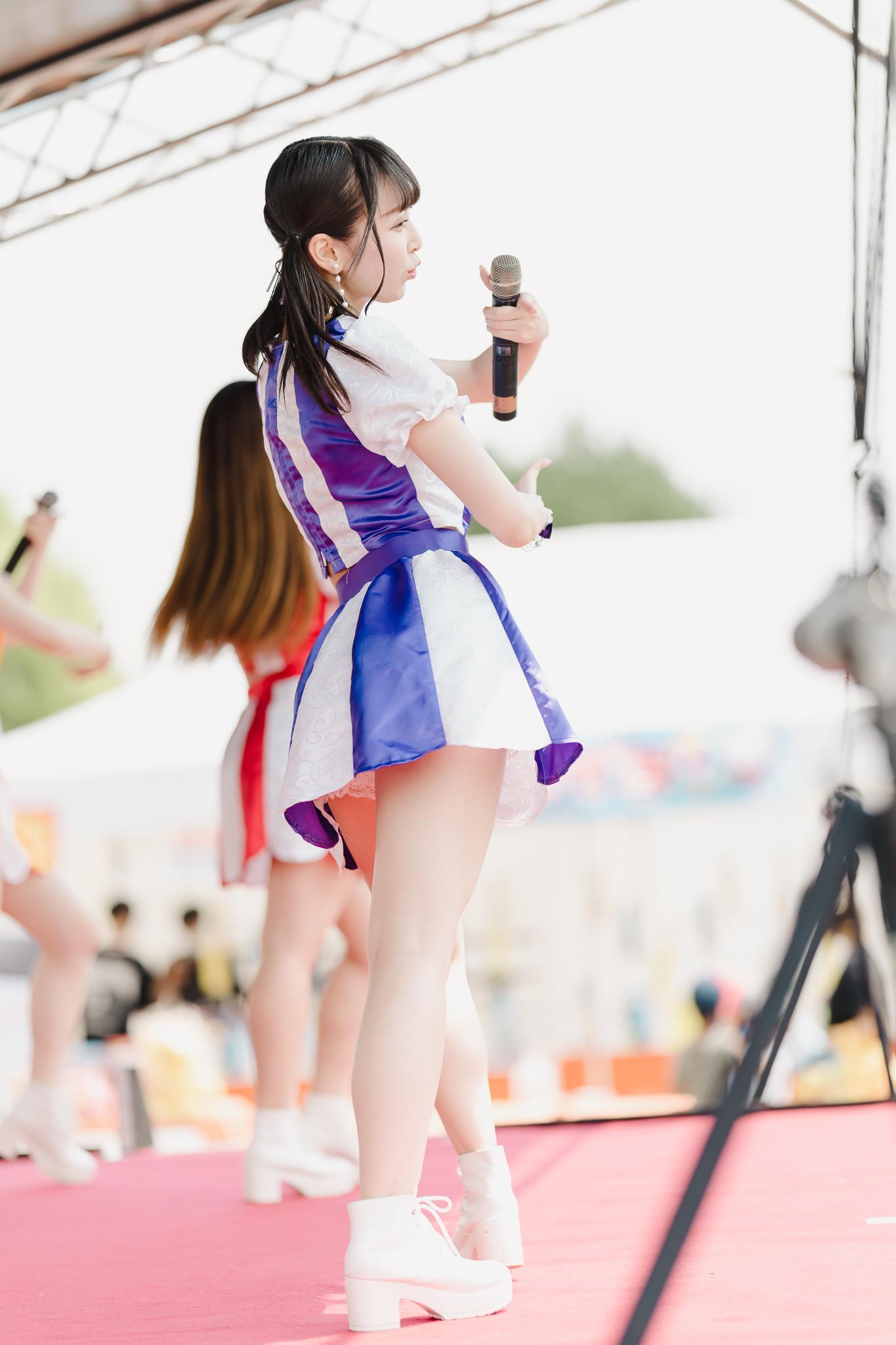 フルーティー♡ ゆいな ( 葉山結菜 ) | お宝百貨店万代藤野店「SUMMER FESTIVAL 2021」1日目