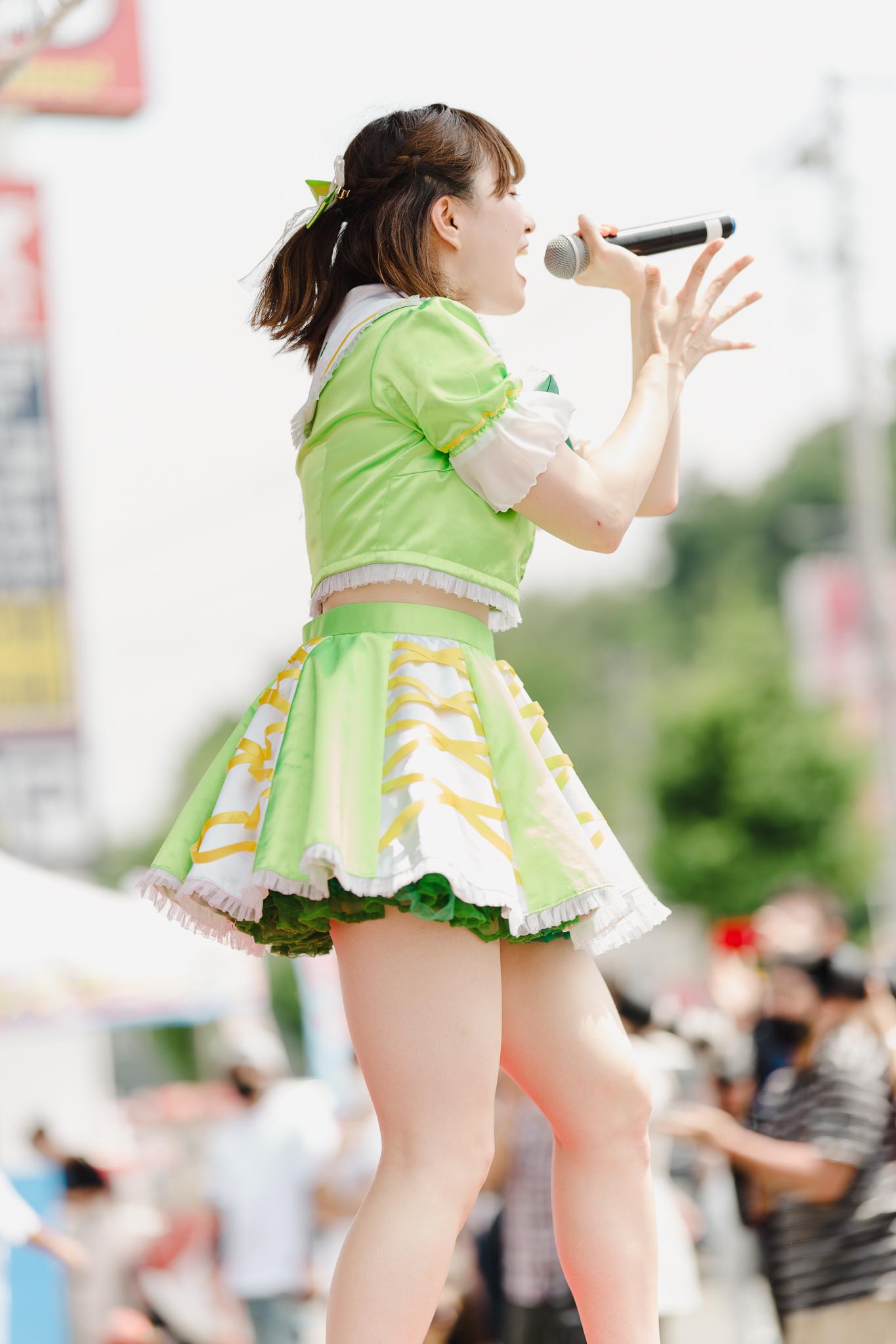 HAPPY少女♪ あゆみ ( 新谷亜由美 ) | お宝百貨店万代藤野店「SUMMER FESTIVAL 2021」1日目