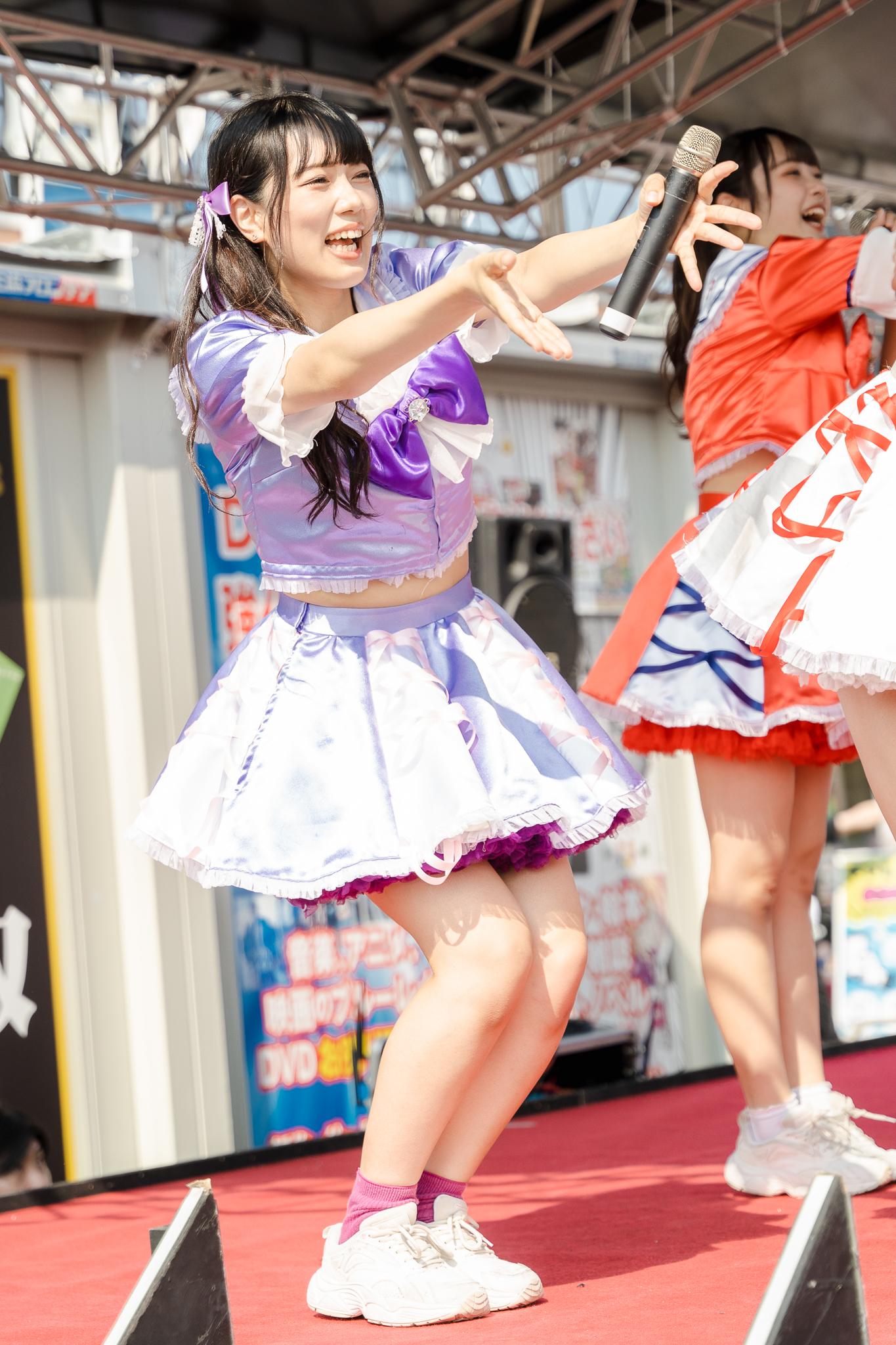 HAPPY少女♪ りお ( 松永りお ) | お宝百貨店万代藤野店「SUMMER FESTIVAL 2021」1日目