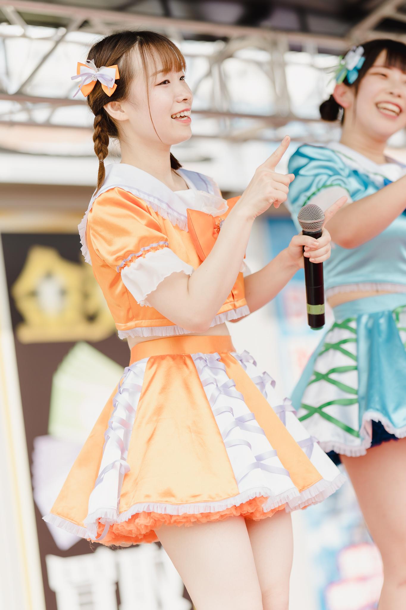 HAPPY少女♪ やよたん ( 藤本やよい ) | お宝百貨店万代藤野店「SUMMER FESTIVAL 2021」1日目
