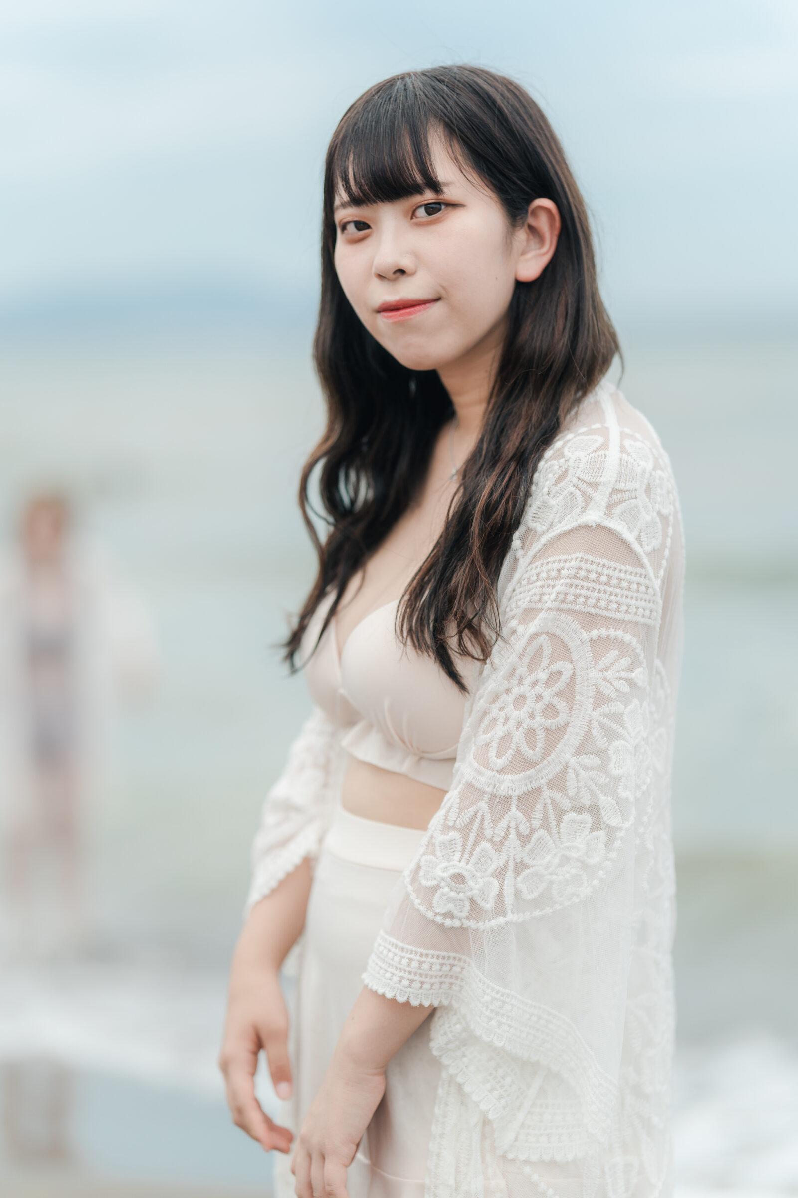 HAPPY少女♪ ここあ ( 麦谷心愛 ) | ライブプロ海イベント2021水着撮影会