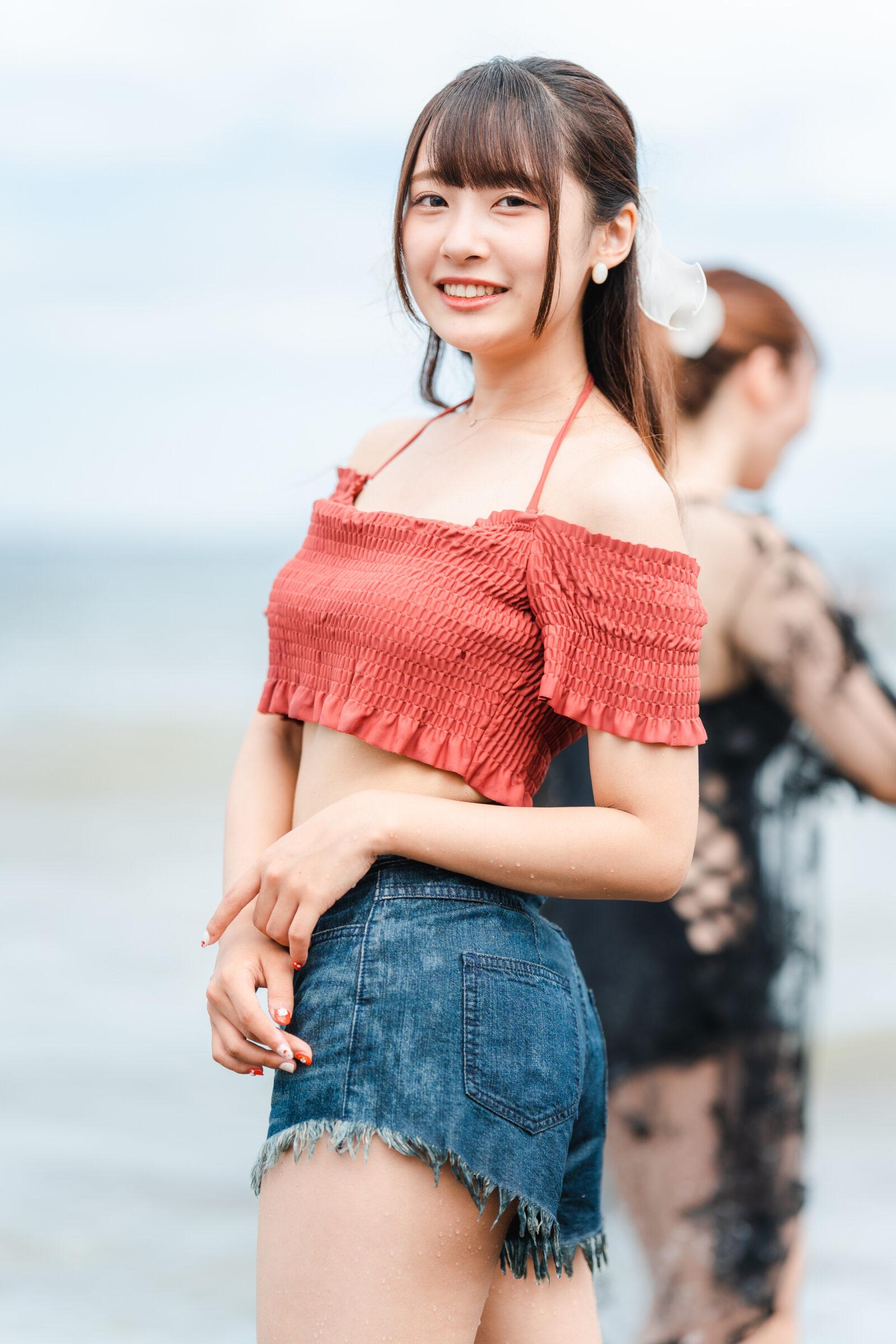 HAPPY少女♪ ちひろ ( 孫田ちひろ )   ライブプロ海イベント2021水着撮影会