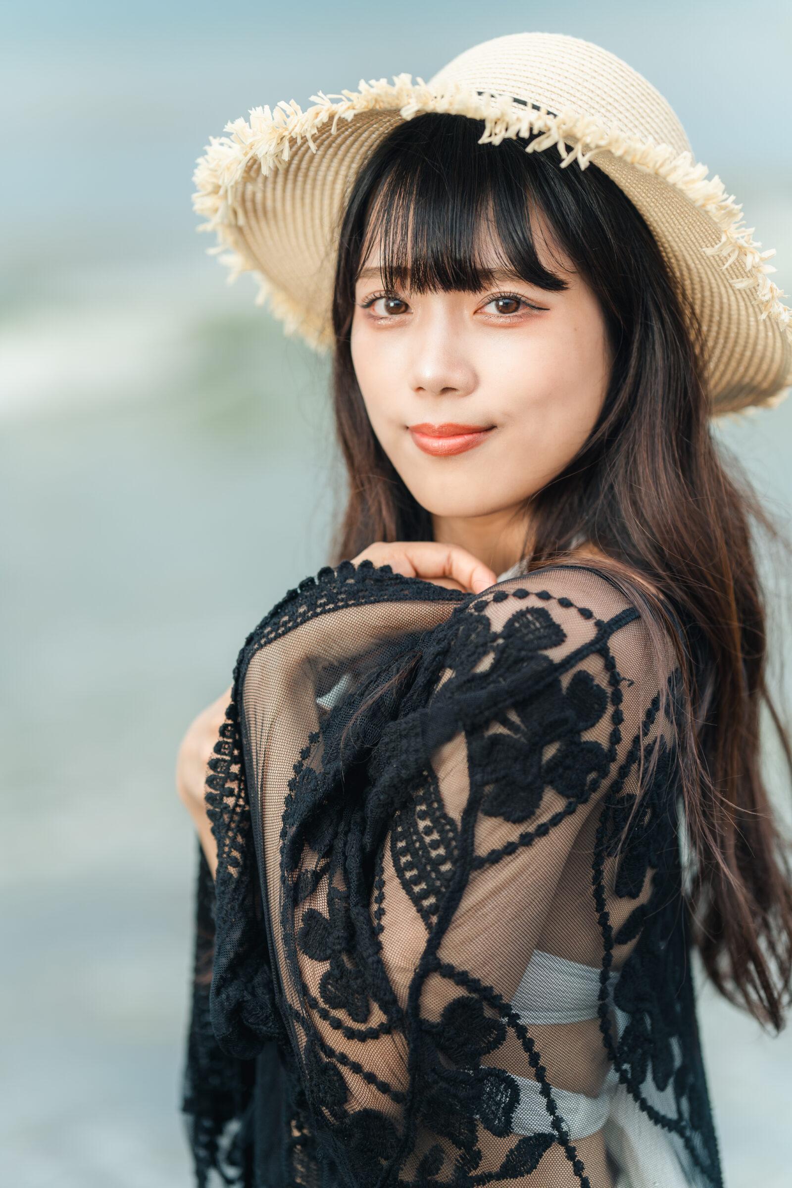 HAPPY少女♪ りお ( 松永りお ) | ライブプロ海イベント2021水着撮影会