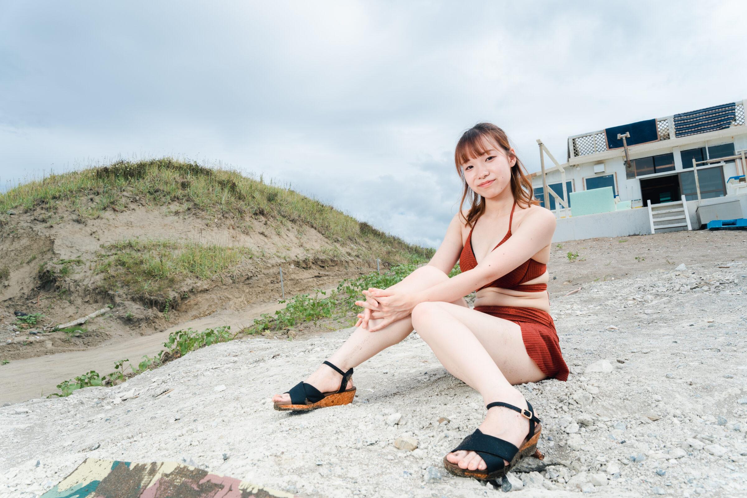 HAPPY少女♪ やよたん ( 藤本やよい ) | ライブプロ海イベント2021水着撮影会